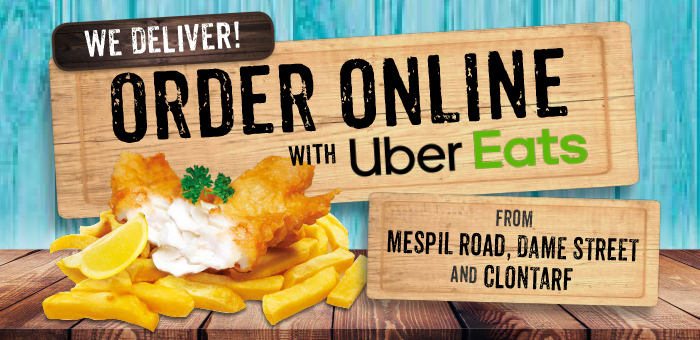 Beshoff Bros delivery with Uber Eats